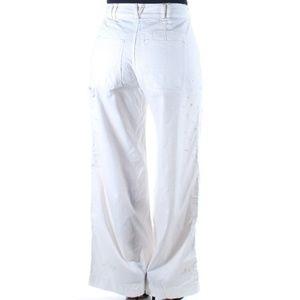 💐FP💐Ivory Splatter Wide Pants